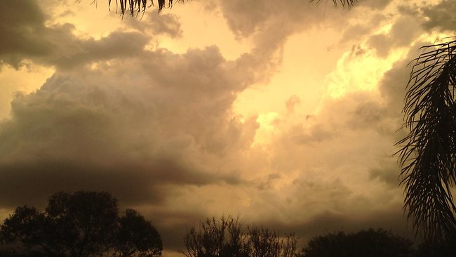 Storm clouds over Paralowie from Cheryl Walton
