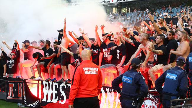 western sydney wanderers flares up - photo#23