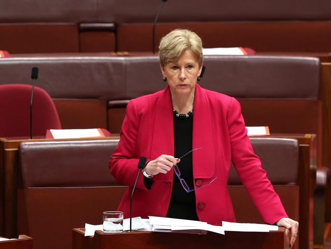 "RET review is a ""dinosaur protection racket"" says Greens Leader Senator Christine Milne."