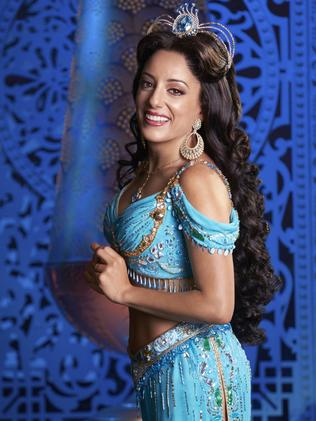Hiba Elchikhe as Princess Jasmine in Aladdin.