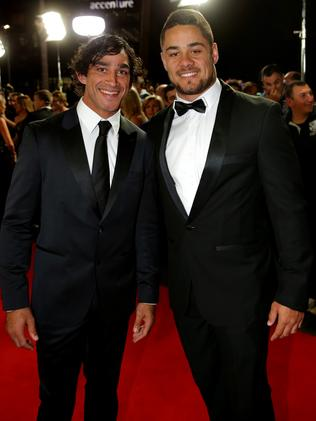 Johnathan Thurston and Jarryd Hayne.