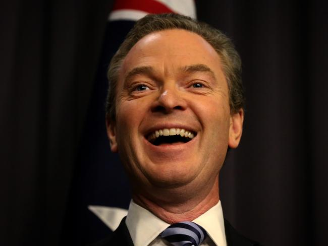 Double dissolution trigger ... Education Minister Christopher Pyne.