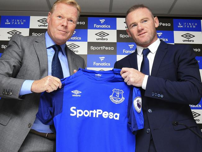 Wayne Rooney will be back in Everton blue once again this Premier League season.