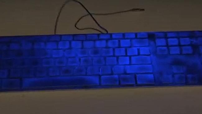 The keyboard is one of the worst spots for germs, especially if you eat at your desk. Picture: Thinkstock.