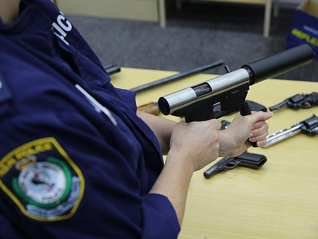 Officers obtained 13 firearms and various calibres of ammunition in the raids