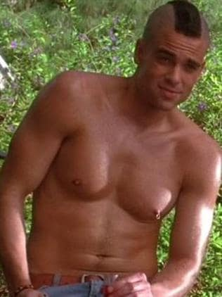 Sex symbol ... Glee star Mark Salling. Picture: Supplied