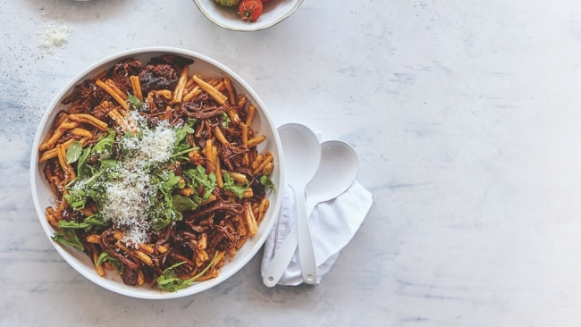 A pasta dish from Alyce's new cookbook. Photo: Supplied