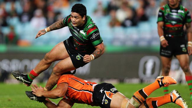 Issac Luke has improved the Rabbitohs' attack since returning from injury.
