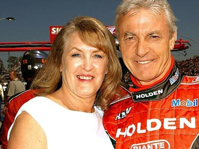Tell all ... Bev Brock has told in a new book about what it was like to be married to her racing driver husband, Peter.