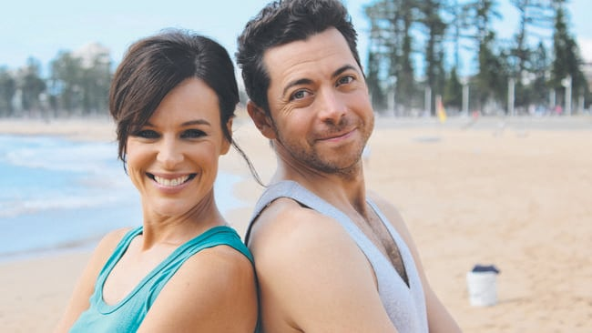 Heavily promoted flop ... Wake Up hosts Natarsha Belling and James Mathison.