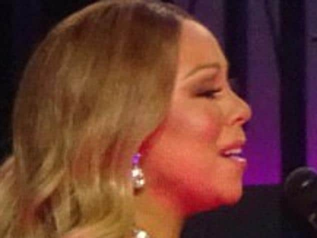 Mariah Carey performs at the final night of her Vegas residency.