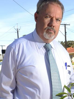 Marion Councillor Bruce Hull has been ordered to apologise to a fellow councillor. Picture: Noelle Bobrige