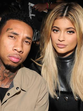 Kylie Jenner and Tyga before they split. Picture: Getty
