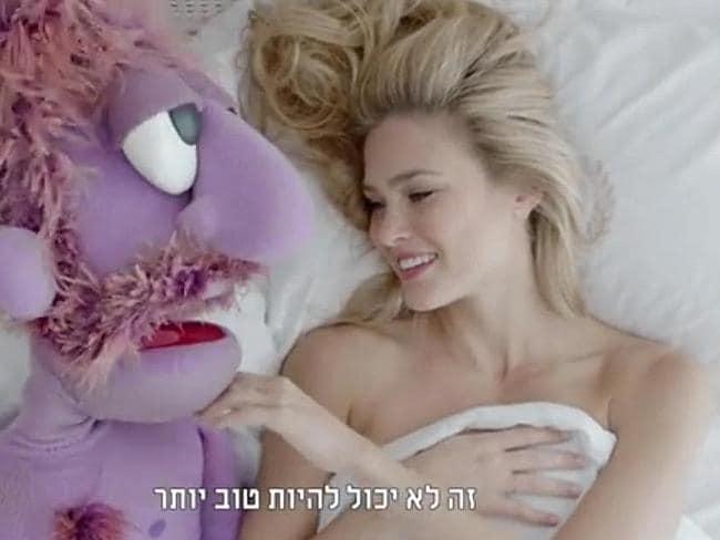 Bar Rafaeli's TV ad 'too sexual'