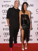 Michael Klim and wife Lindy Klim attend the 2014 InStyle and Audi Women of Style Awards, The entertainment Quarter, Sydney. Pictures: Stephen Coper