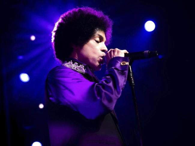 Prince performs at the 47th Montreux Jazz Festival, in Montreux, Switzerland, in 2013. Picture: EPA/Marc Ducrest/Montreux Jazz Festival