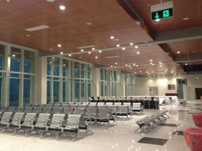 An empty waiting area at the gate. Picture: Wikimedia Commons/Amila Tennakoon
