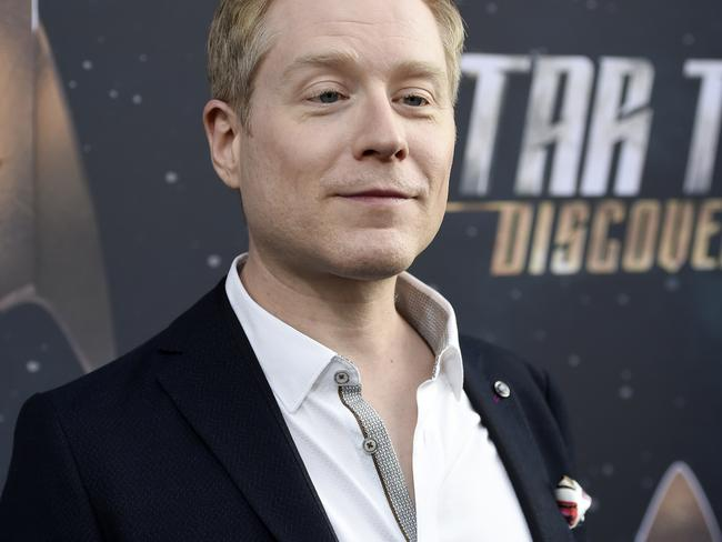 Star Trek actor Anthony Rapp alleges that a 26-year-old Spacey drunkenly groped him when he was just 14. Picture: Chris Pizzello/Invision/AP, File