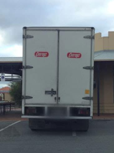 Can't get into a parking space? Probably shouldn't be driving a truck, then. Picture: Craig Cook