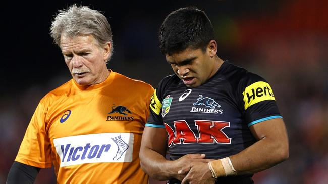 Tyrone Peachey with a pectoral injury.