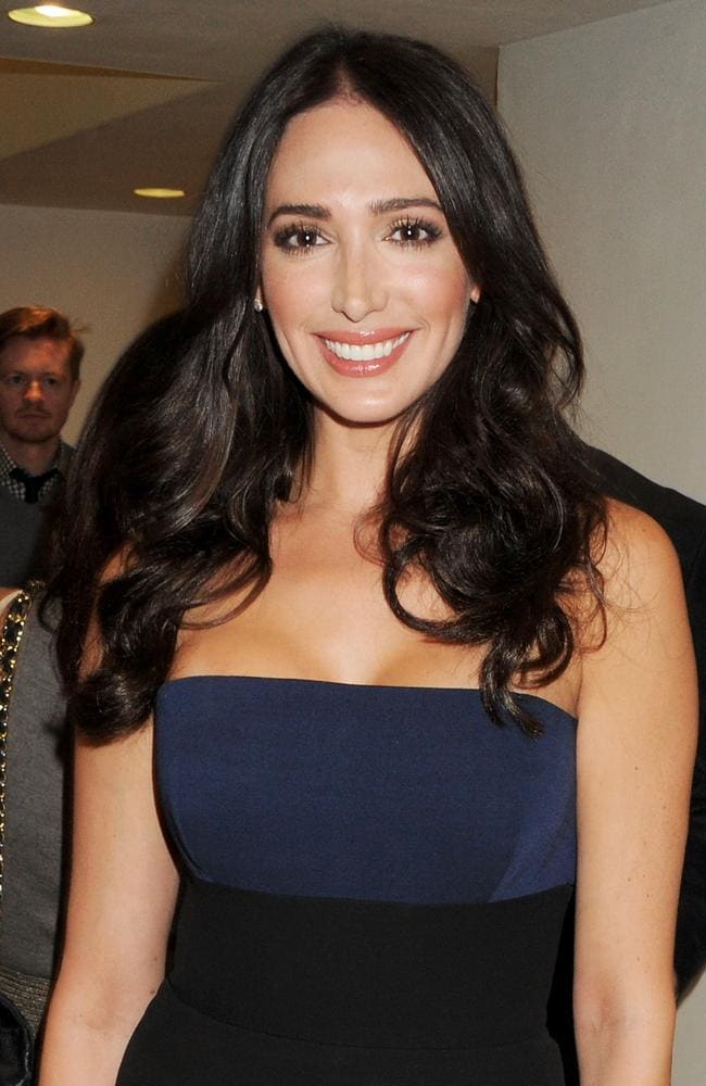 Cowell's girlfriend ... Lauren Silverman is of the Jewish faith. Picture: Dave M. Benett/Getty Images