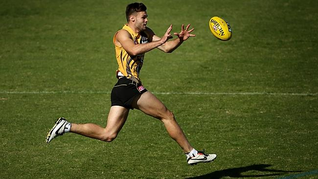 Top draft pick Ben Lennon is close to a senior debut. Picture: Colleen Petch