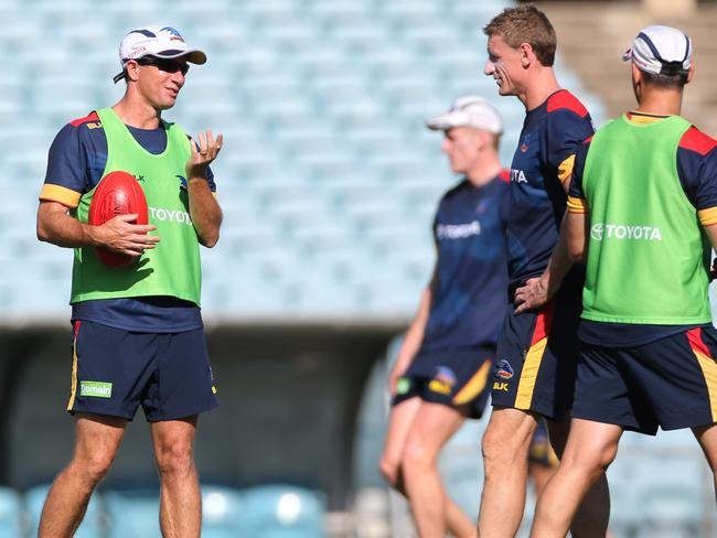 Adelaide Crows Get Back To Basics With Training Under New