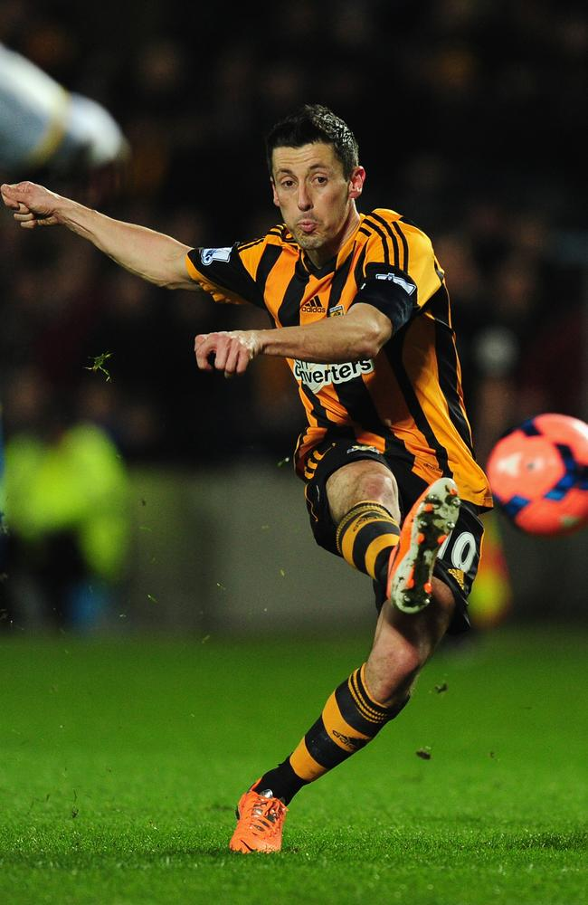 Cit marquee Robert Koren in action for former club Hull City.
