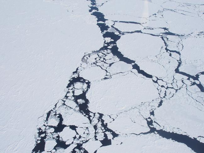 Sea ice cover in Antarctica dropped to a record low this year, scientists said on September 27, 2017. Picture: AFP.