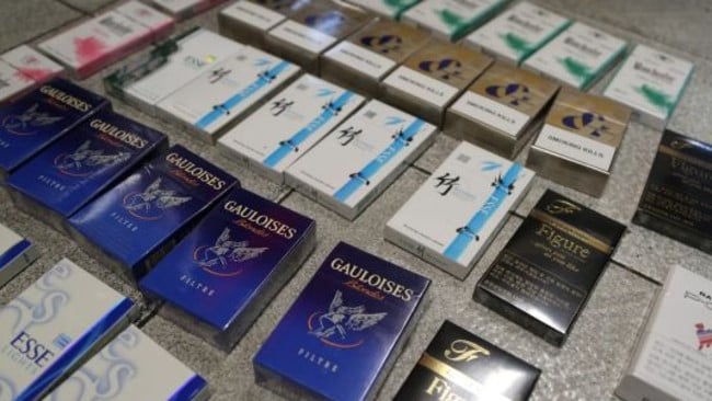 The illicit tobacco trade. Picture: NSW Police