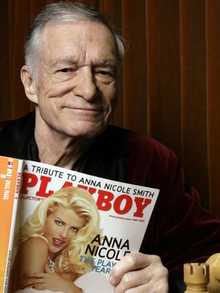 Hugh Hefner in 2007.
