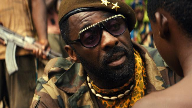 Idris Elba in the Netflix original film Beasts of No Nation.