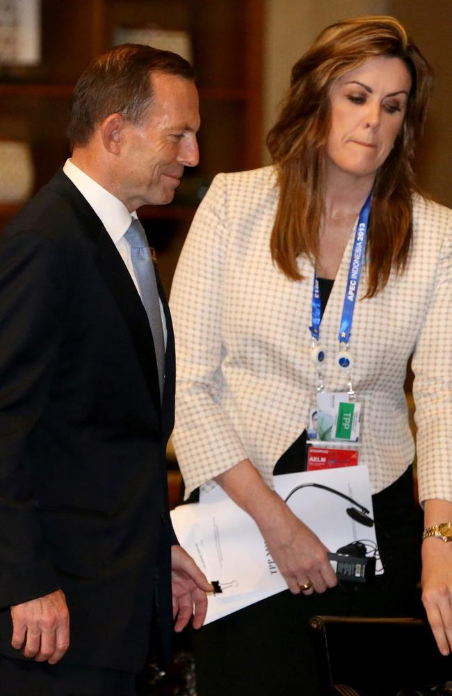 Tony Abbott's chief of staff Peta Credlin rules his office with an iron fist.