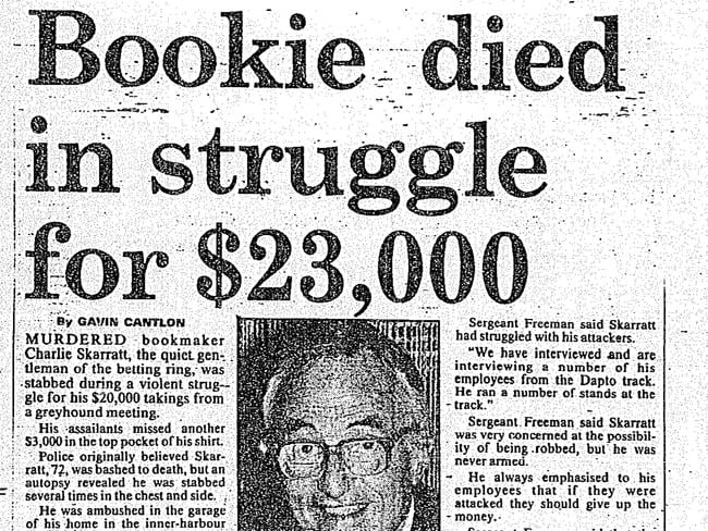 Man arrested over cold case murder of bookie Charles ...