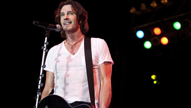 Hollywood's calling ... Australian rocker Rick Springfield was due to tour in October.