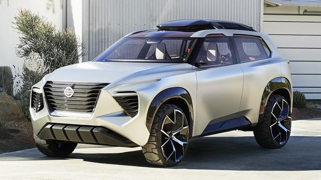 Compact Suv 3 Row Seating >> Nissan Xmotion SUV concept wows Detroit motor show