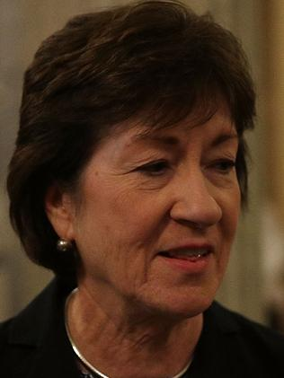 US Senator Susan Collins says she is swaying no. Picture: Getty