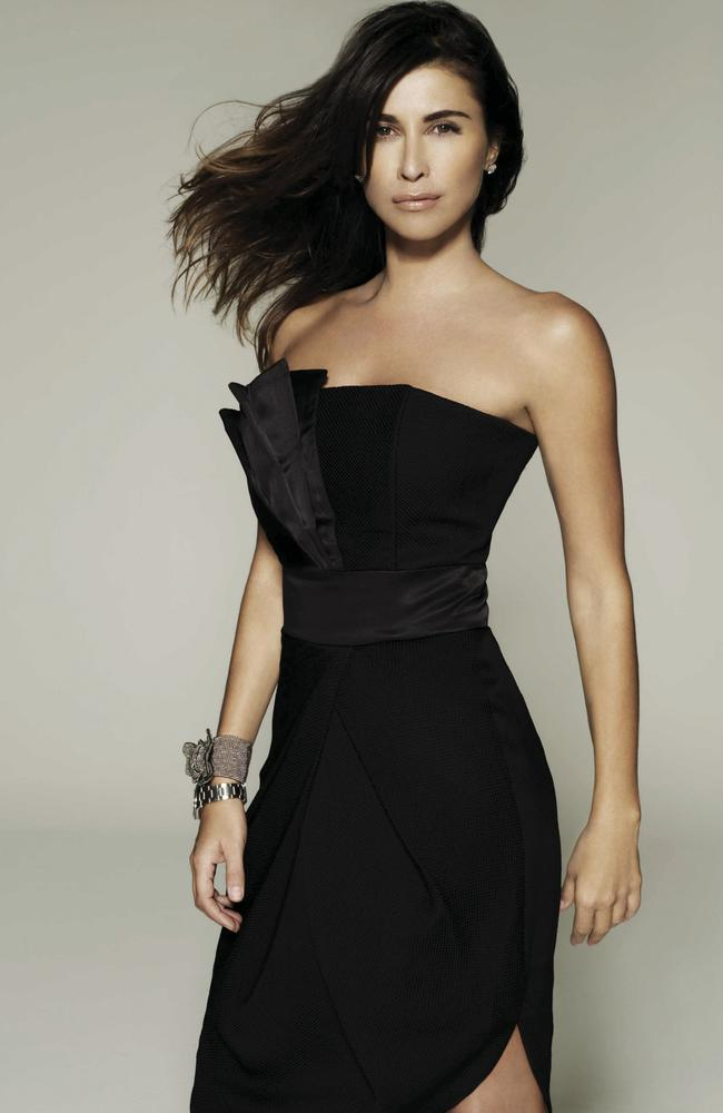 "Jodhi Meares in a promotional shot for ""Australia's Next Top Model"" in 2008."