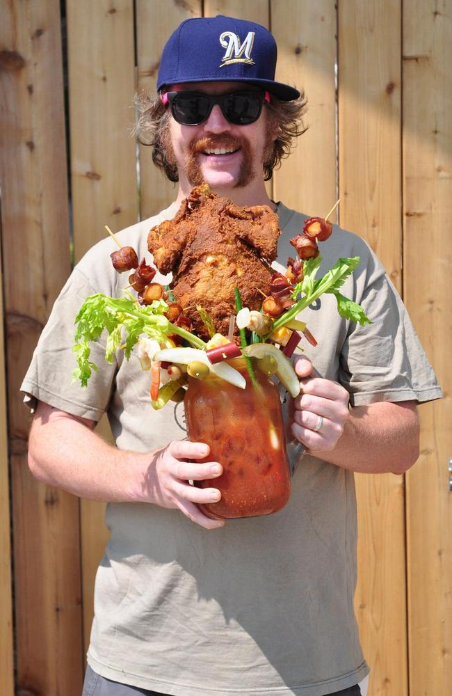 "The ""Chicken Fried Bloody Beast"". Try it if you dare."