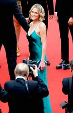 "Robin Wright attends the ""Loveless (Nelyubov)"" screening during the 70th annual Cannes Film Festival at Palais des Festivals on May 18, 2017 in Cannes, France. Picture: Getty"