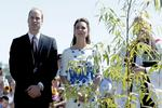 Their Royal Highness The Duke and Duchess of Cambridge arrive at RAAF Base Amberley.