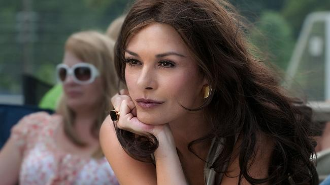 Catherine in a scene from her movie 'Playing For Keeps' in 2012.