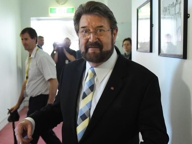 Derryn Hinch are pushing for a 13 per cent tax rate for foreign workers. Picture: Mick Tsikas.