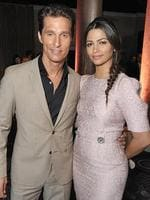 Matthew McConaughey, left, and Camila Alves McConaughey attend the 86th Oscars Nominees Luncheon, on Monday, Feb. 10, 2014, in Beverly Hills, Calif. (Photo by John Shearer/Invision/AP)