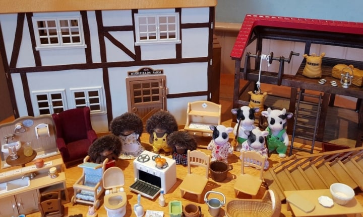If you own these Sylvanian Families sets you could make a fortune