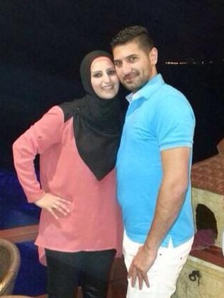 Sydney mother Mahassen Issa and her current boyfriend / Picture: Supplied