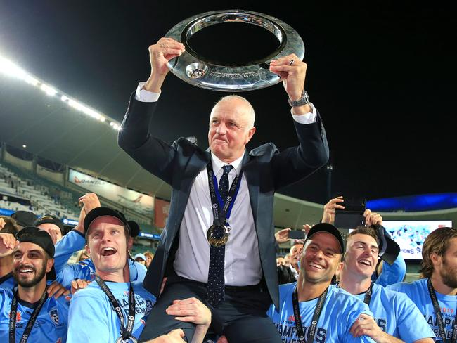 Sydney FC coach Graham Arnold could be a contender to take over the Socceroos job.