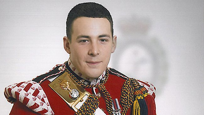 In this undated image released Thursday May 23, 2013, by the British Ministry of Defence, showing Lee Rigby known as Riggers to his friends, who is identified by the MOD as the serving member of the armed forces who was attacked and killed by two men in the Woolwich area of London.