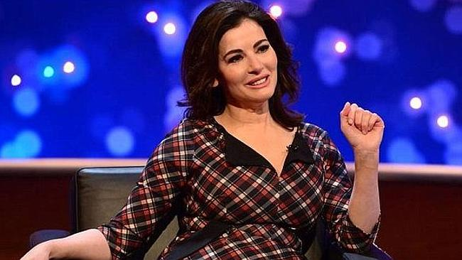Domestic Goddess ... Lawson speaks about the traumatic end of her marriage to Charles Saatchi on a UK talk show.