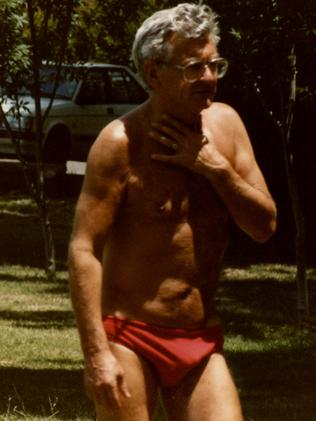 Former Prime Minister Bob Hawke sometimes ran the country wearing even less than this. Picture: Julie Herd